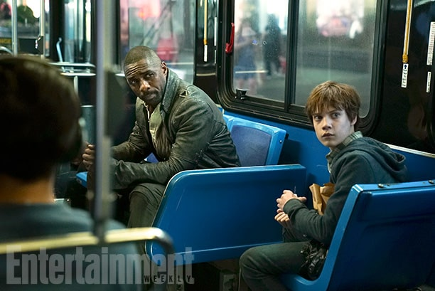 The Dark Tower (2017) Idris Elba (L) and Tom Taylor