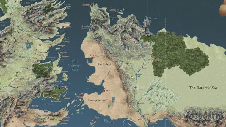 mapa game of thrones Game of Thrones   Veja mapa interativo do mundo da série   Jovem Nerd mapa game of thrones