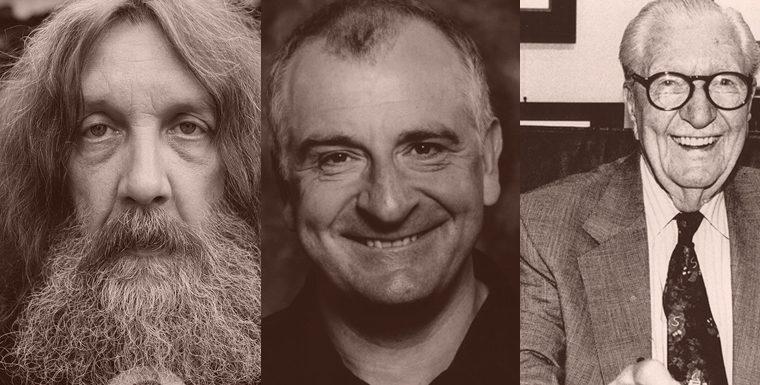 Alguns que conseguem brincar com as estruturas: Alan Moore, Douglas Adams, Carl Barks