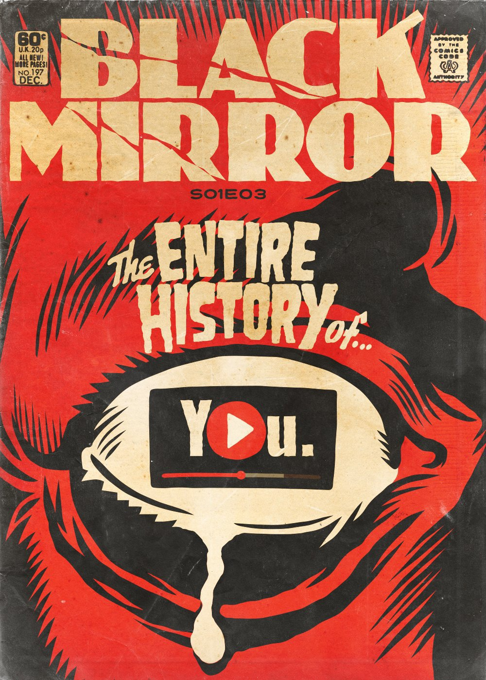 Book Cover Black Mirror : Artista transforma episódios de black mirror em capas no