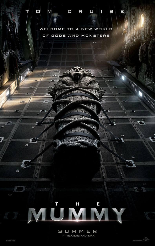 Resultado de imagem para a múmia poster 2017