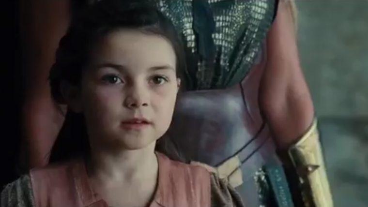 Resultado de imagem para mulher maravilha criança no filme