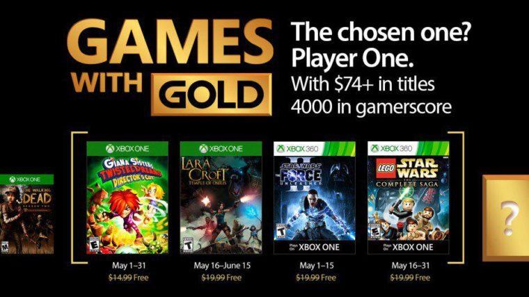 Confira os jogos gratuitos de maio para assinantes da Xbox Live Gold