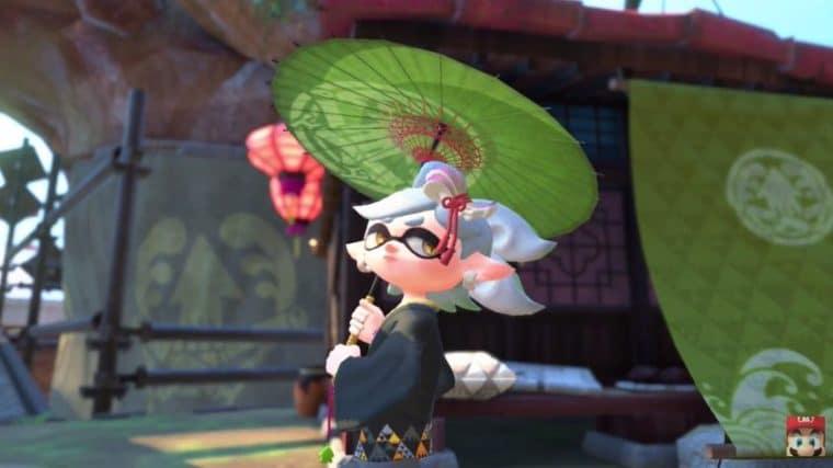 Marie em Splatoon 2 Single Player