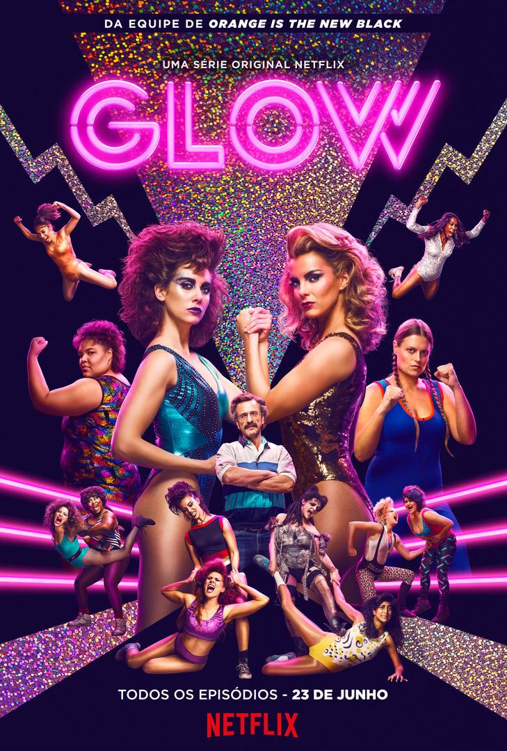 Resultado de imagem para glow netflix posters