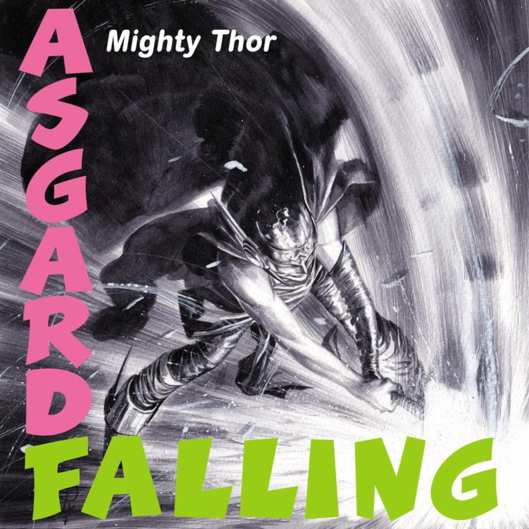 Thor #23 - homenagem a London Calling, do The Clash