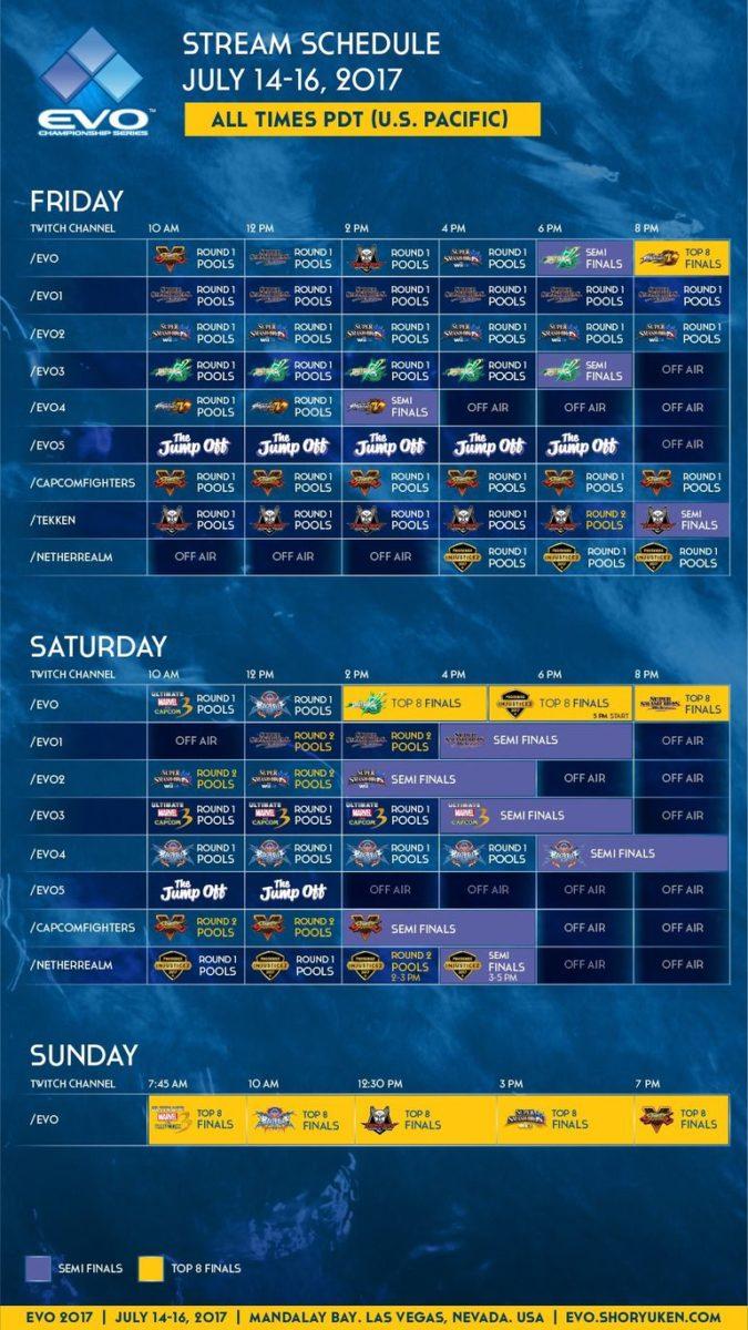 EVO_2017_Schedule