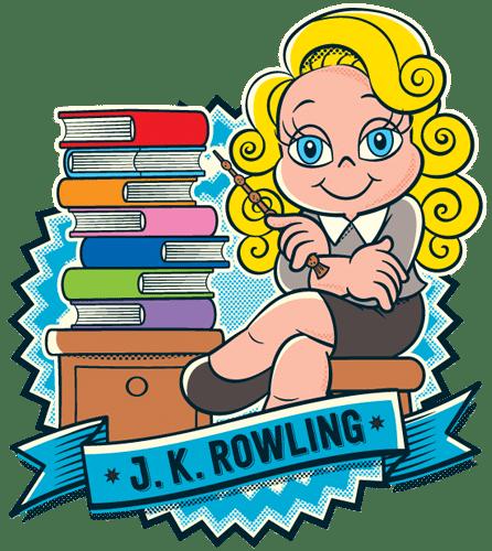 JK Rowling vira personagem da Turma da Mônica em homenagem de aniversário