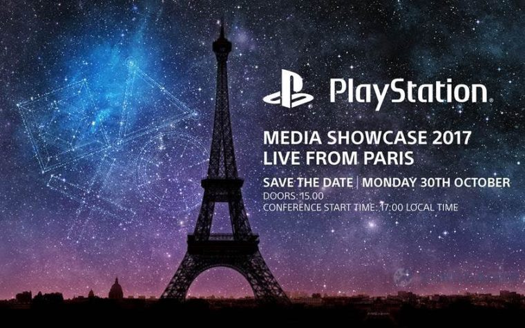 Sony com conferência na Paris Games Week 2017