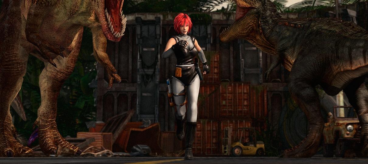 Fã lança remake de Dino Crisis em 2D - NerdBunker