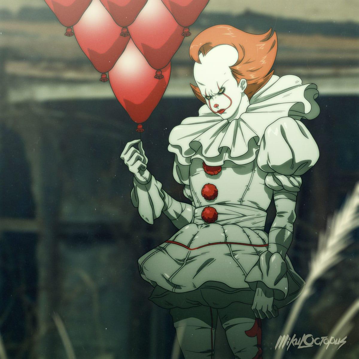 Artista imagina como it a coisa seria se fosse um anime jovem nerd mike anderson it anime 1 stopboris Gallery