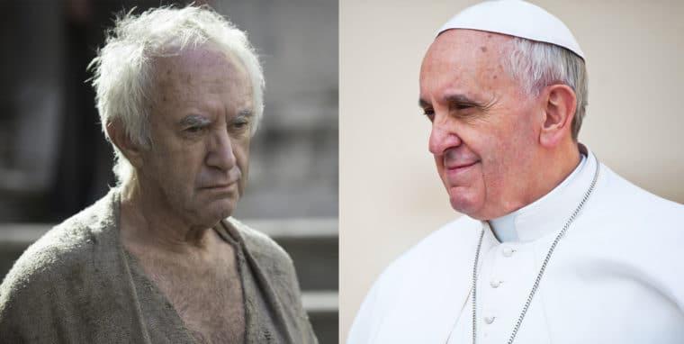 Jonathan Pryce será o Papa Francisco em filme da Netflix