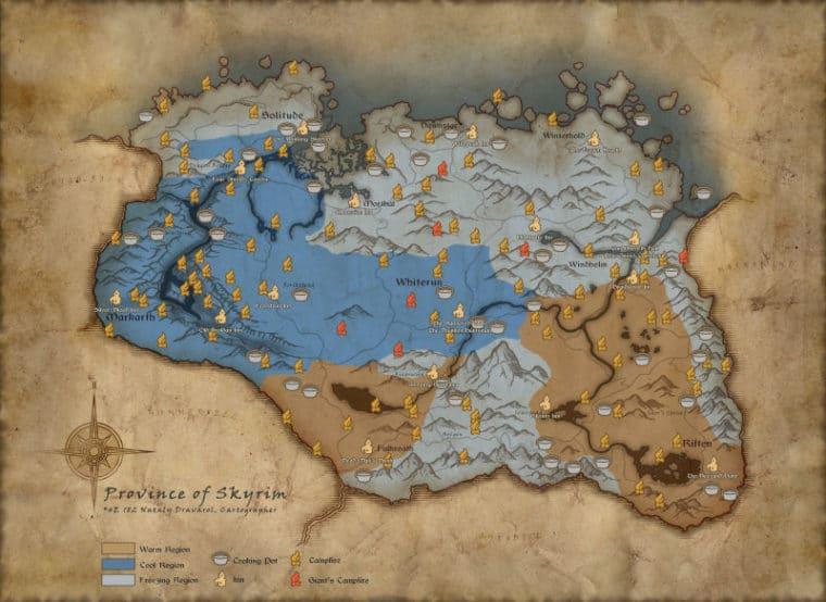 The Elder Scrolls V: Skyrim vai ganhar modo de sobrevivência hardcore