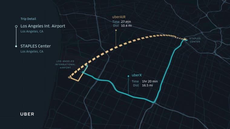 Uber se une a Nasa para ter táxis voadores em 2020