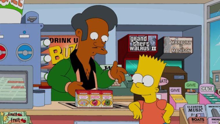 , Os Simpsons | Apu será removido da série após controvérsia, Guarulhos Gng