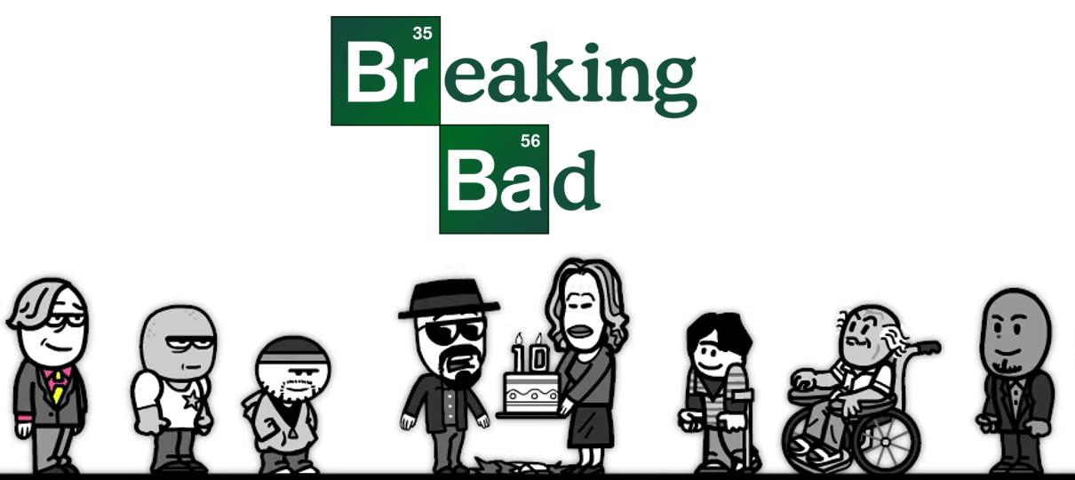Animação relembra os dez anos de Breaking Bad; assista ...