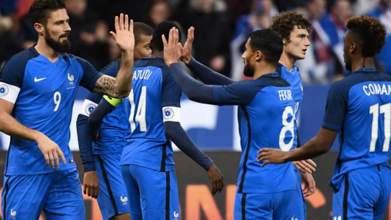 bfb99d7156 Publicado em 28 de maio de 2018 às 11h33. O jogo FIFA está profetizando a  seleção da França como campeã da Copa do Mundo ...