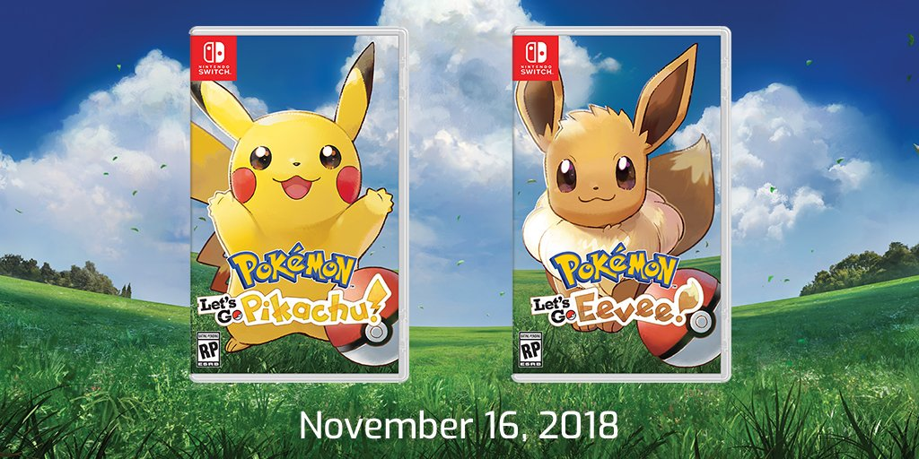 Pikachu Let's Go Pikachu & Eevee (Switch)