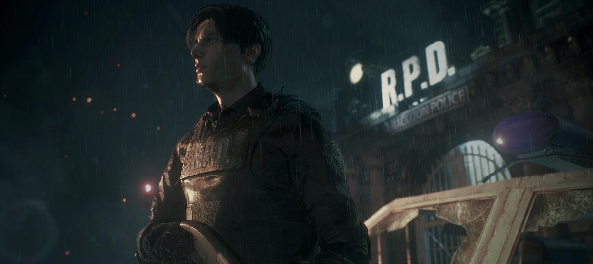 Resident Evil Remake Tea Room