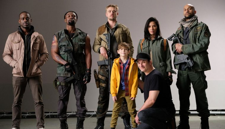 Sterling K Brown, Trevante Rhodes, Boyd Holbrook, Olivia Munn, Keegan-Michael Key, Jacob Tremblay e Shane Black