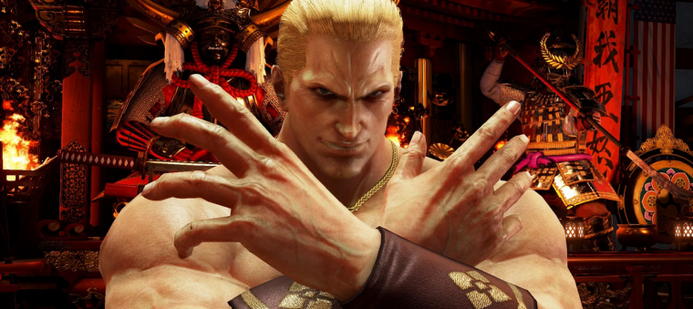 Geese Howard em Tekken 7