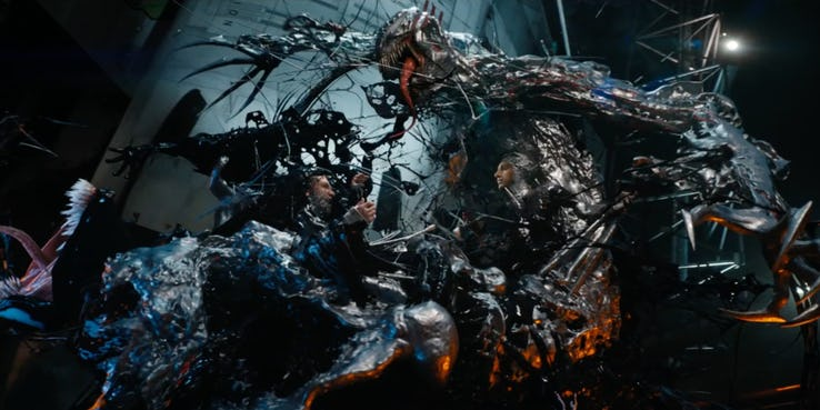novo trailer de Venom