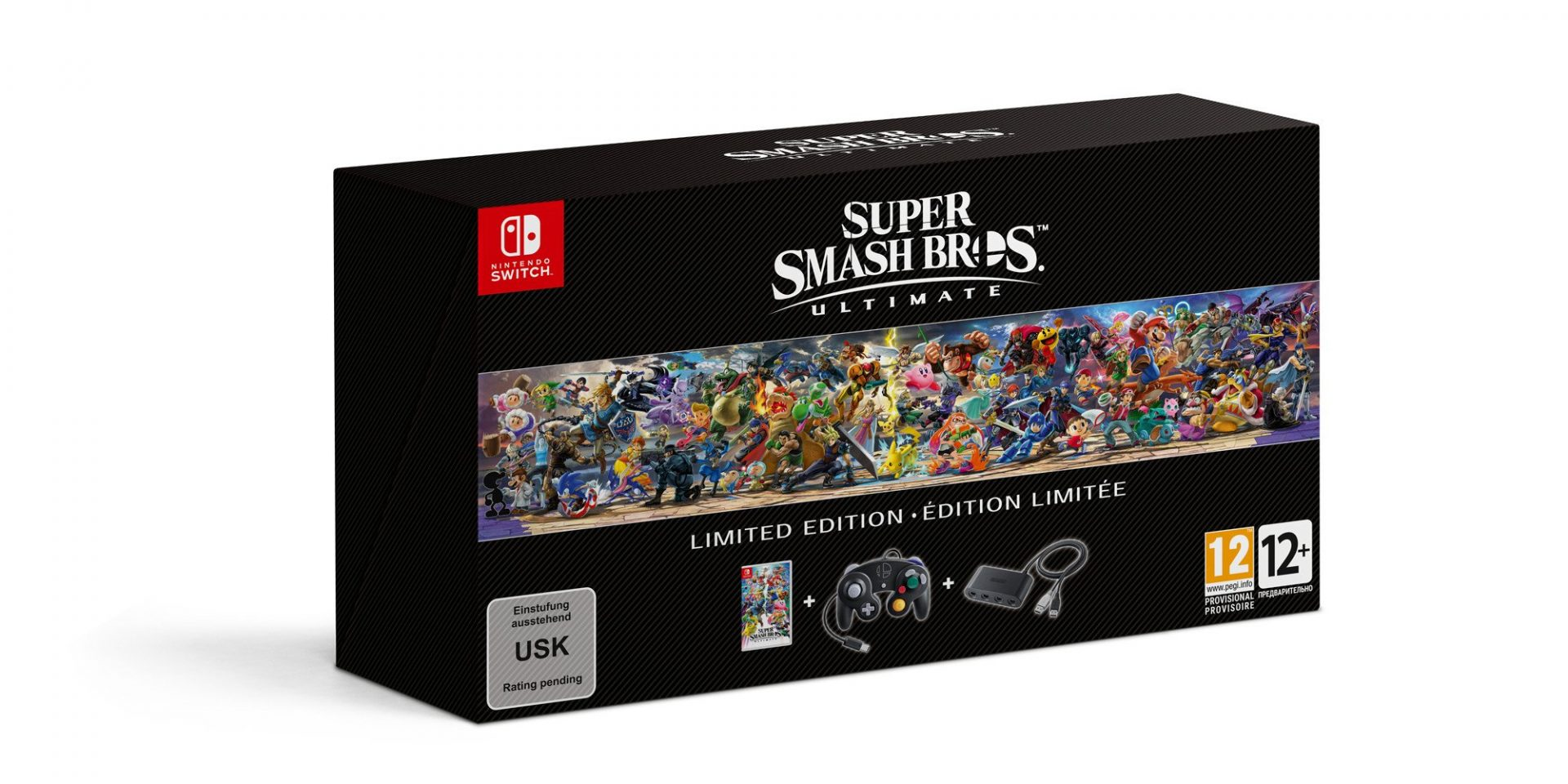 Super Smash Bros. Ultimate terá edição limitada