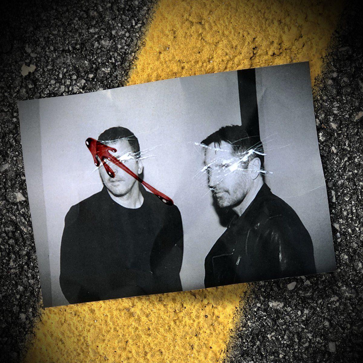 Foto de divulgação do Nine Inch Nails em Watchmen
