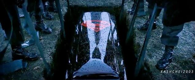 Superman caixão