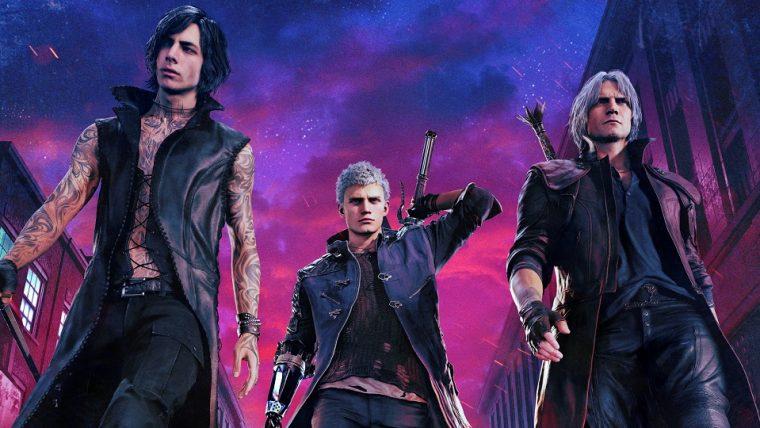 Games jovem nerd devil may cry 5 mostra gameplay de dante brao de mega man e v em novos trailers stopboris Images