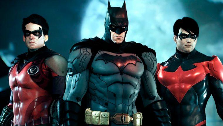 Trecho Estúdio foi responsável pela série Batman  Arkham Clique para  continuar lendo 02d41a97f1a