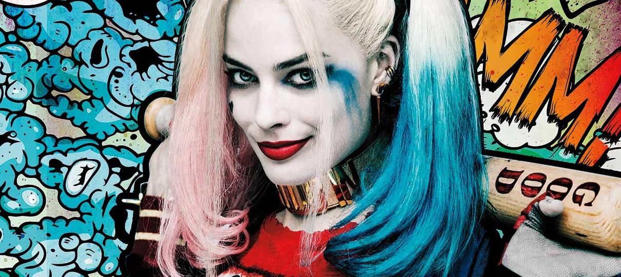 Tem Na Web - Aves de Rapina - Margot Robbie revela título oficial em foto