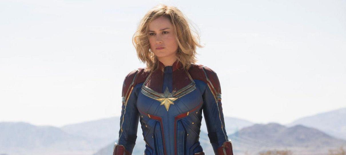 Tem Na Web - Brie Larson mostra para Chris Hemsworth que é digna do Mjolnir