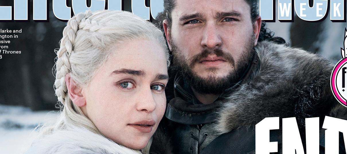 Tem Na Web - Daenerys e Jon Snow se abraçam em primeira foto da última temporada de Game of Thrones