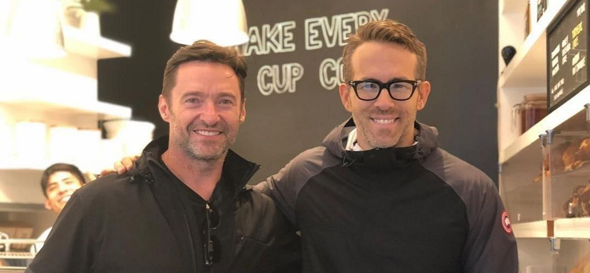 Tem Na Web - Ryan Reynolds começa campanha contra Hugh Jackman de zoeira