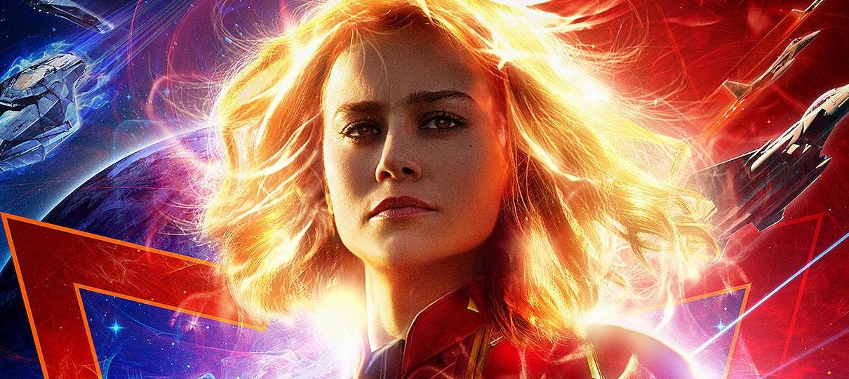 Tem Na Web - Capitã Marvel ganha novo pôster oficial