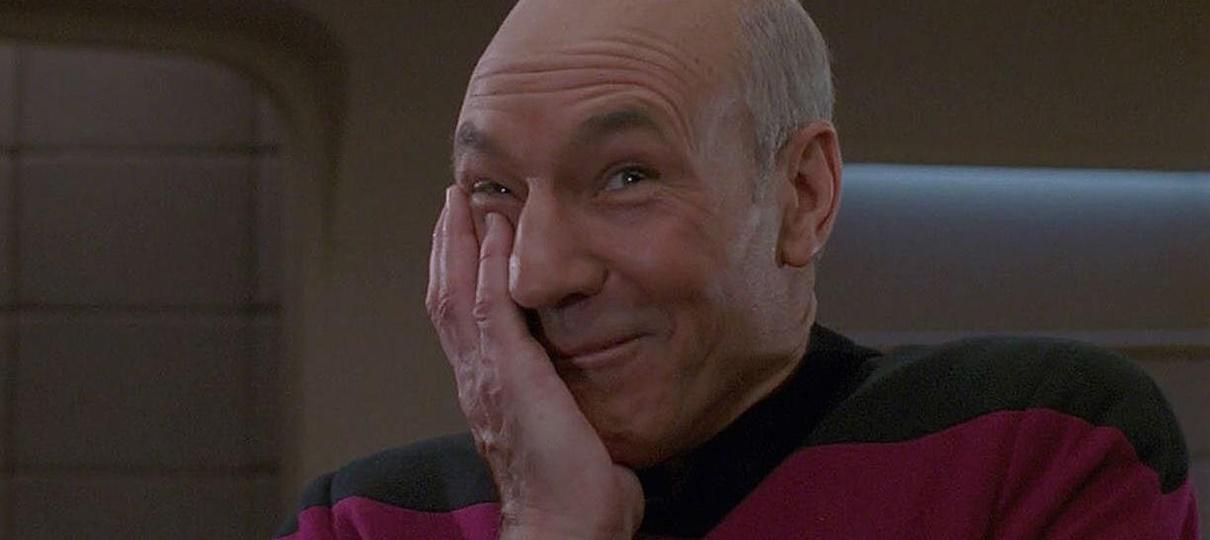 Tem Na Web - Star Trek - Nova série com Patrick Stewart estreia em 2019