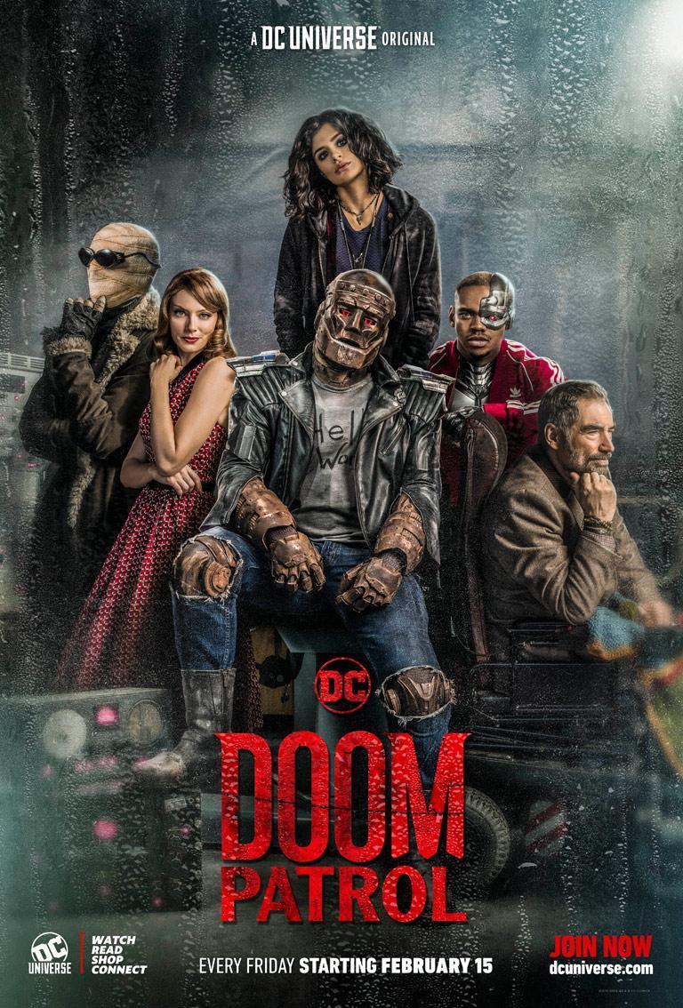 Resultado de imagem para Doom patrol poster