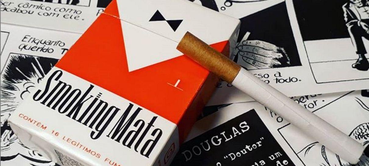 Tem Na Web - Smoking Mata é uma HQ disfarçada de maço de cigarros