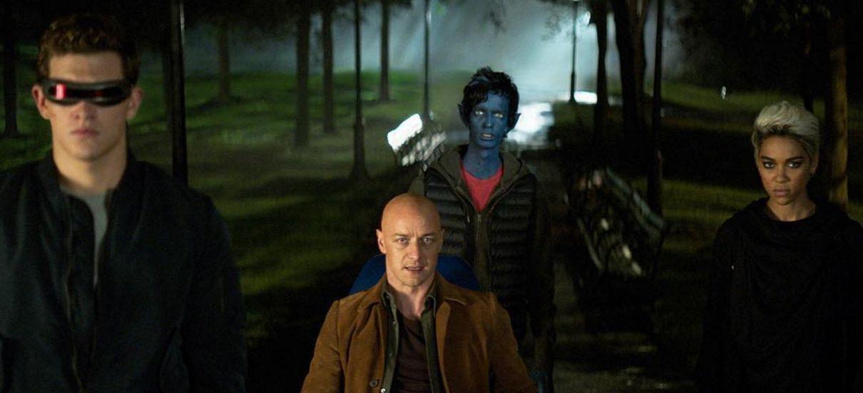 Tem Na Web - Mutantes se reúnem em foto de X-Men: Fênix Negra