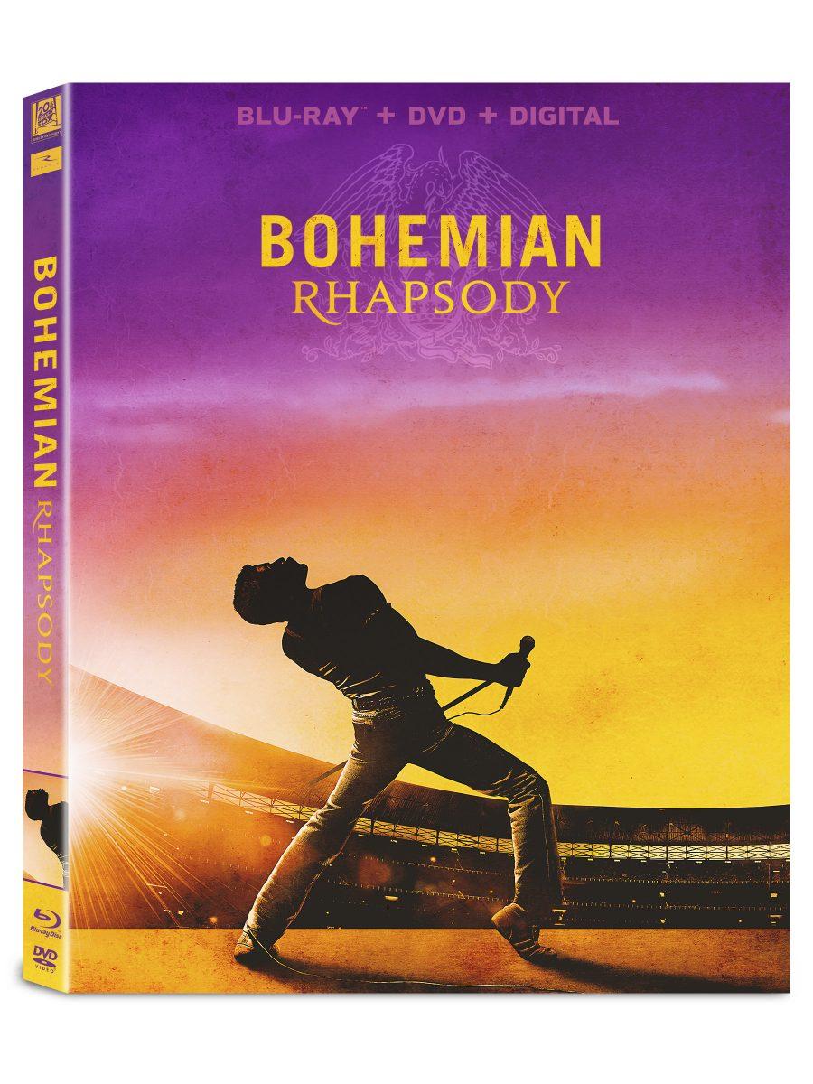 Capa do Blu-Ray de Bohemian Rhapsody no Brasil