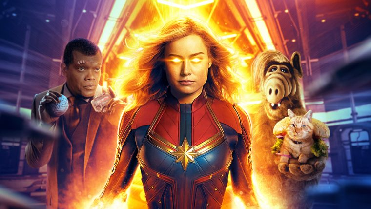 Capita Marvel Representou Jovem Nerd