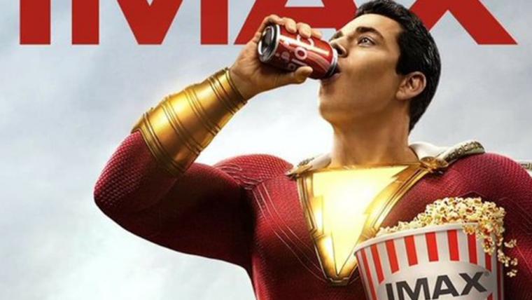 Confira o novo cartaz do Filme Shazam 4
