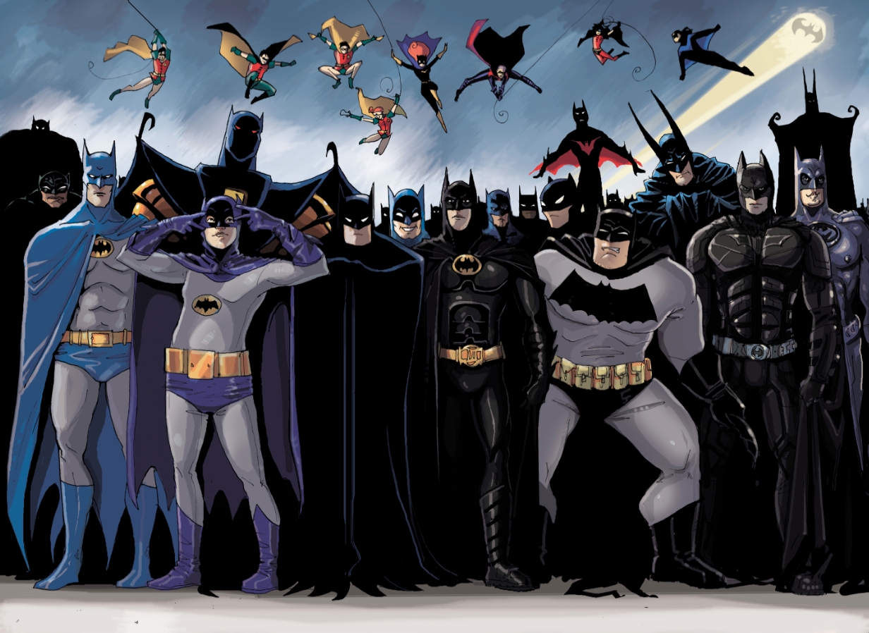 batman through the years essay The batman symbol went through a series of transformations throughout its early years, with dc's artists constantly altering and tweaking many of its most basic design elements.