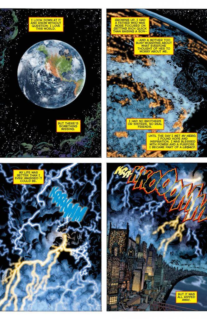 DC Comics Rebirth Page 1