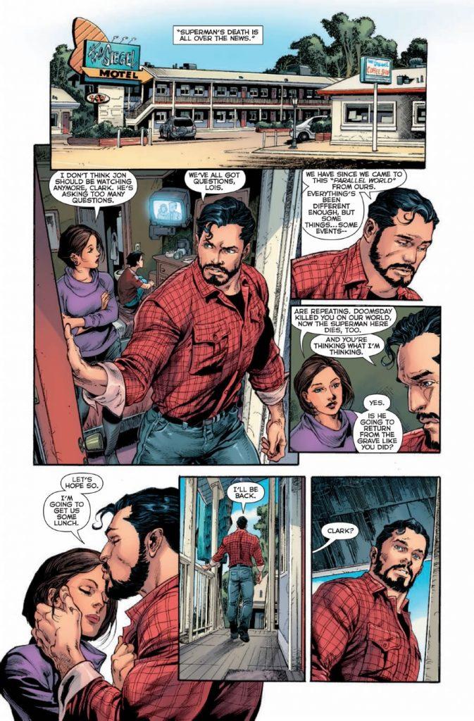 DC Comics Rebirth Page 3