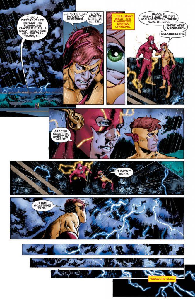DC Comics Rebirth Page 4