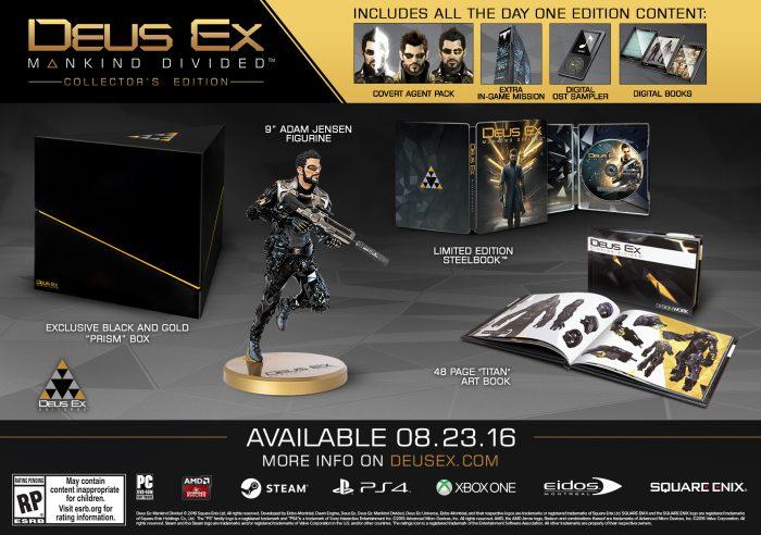 Deus Ex Mankind Collectors