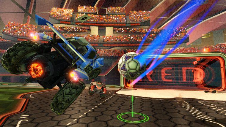 53ea250942 A mistura de carros e futebol da desenvolvedora Psyonix resultou numa  experiência muito divertida