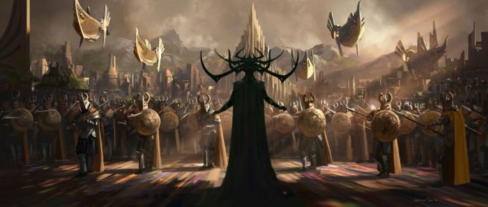 Thor Ragnarok Hela